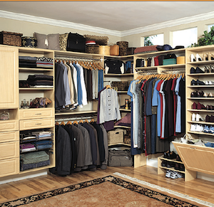 CLOSET AND STORAGE SOLUTIONS